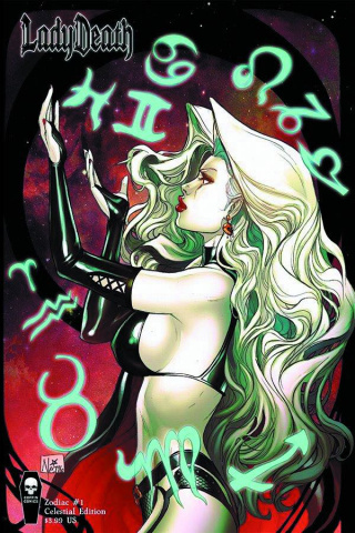 Lady Death: Zodiac #1 (Celestial Cover)