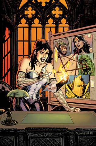 Justice League Dark #24 (Yanick Paquette Cover)