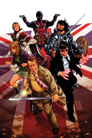Revolutionary War: The Knights of Pendragon #1