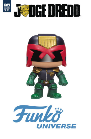 Judge Dredd: Funko Universe (Funko Toy Cover)
