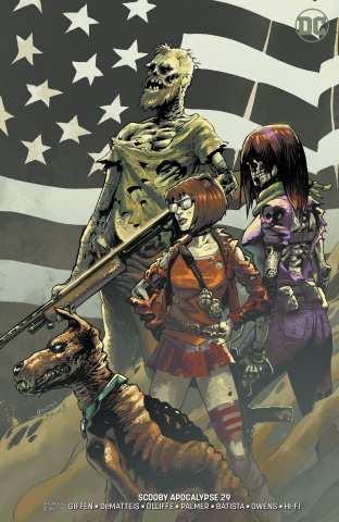 Scooby: Apocalypse #29 (Variant Cover)