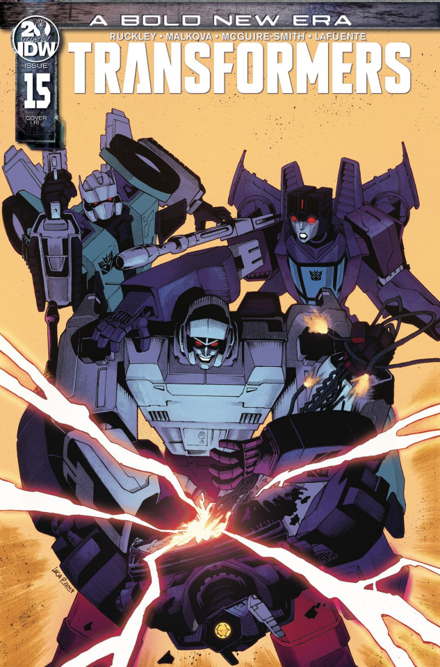 The Transformers #15 (10 Copy Pizzari Cover)