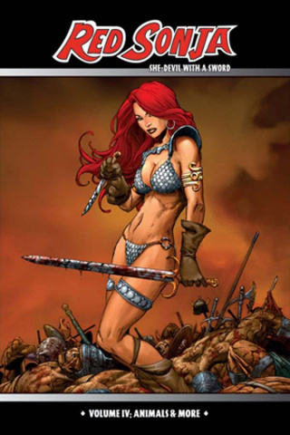 Red Sonja: The She-Devil With a Sword Vol. 4: Animals & More