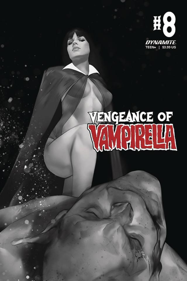 Vengeance of Vampirella #8 (CGC Graded Parrillo Cover)