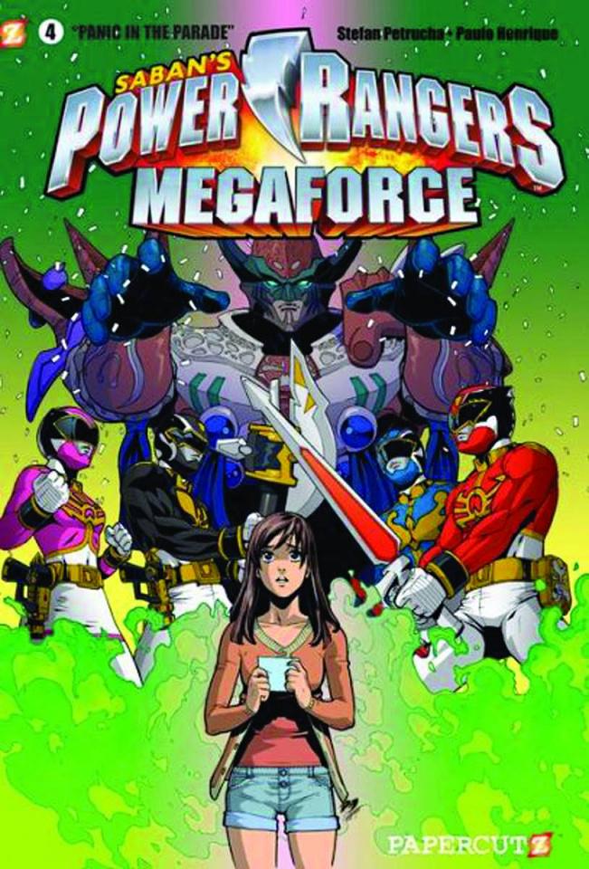 Power Rangers Megaforce Vol. 4