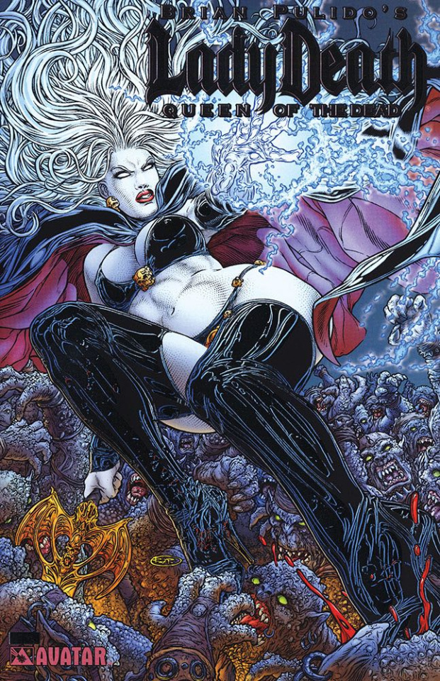 Lady Death: Queen of the Dead (Platinum Foil Cover)