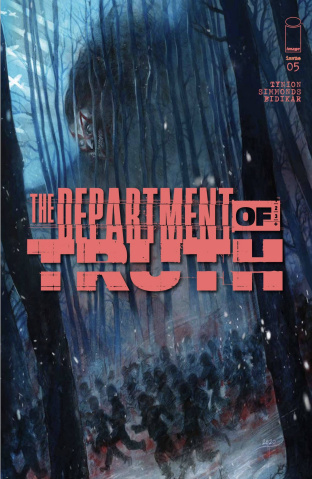 The Department of Truth #5 (Turrill Cover)