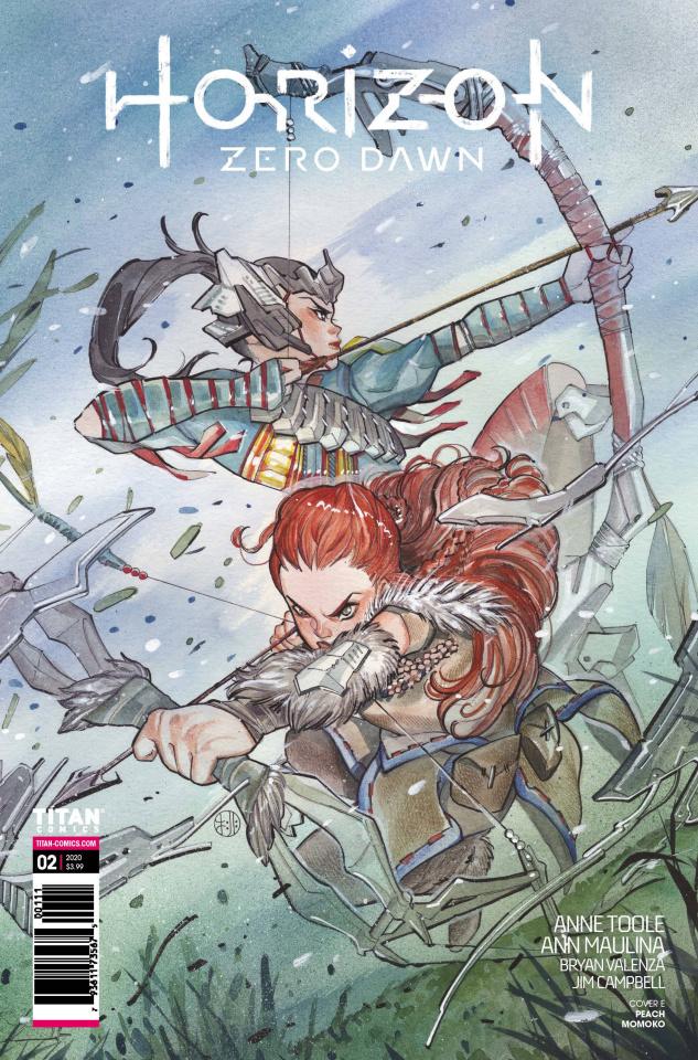 Horizon: Zero Dawn #2 (Momoko Cover)