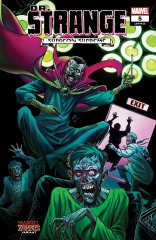 Dr. Strange #5 (Luke Ross Marvel Zombies Cover)