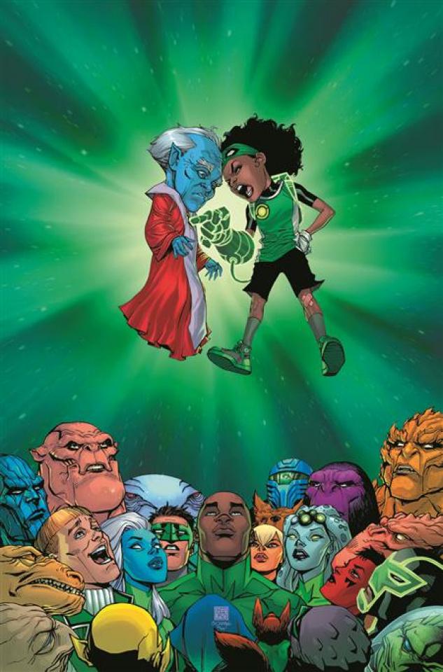 Green Lantern #1 (Bernard Chang Cover)