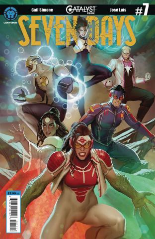 Catalyst Prime: Seven Days #7 (Sejic Cover)