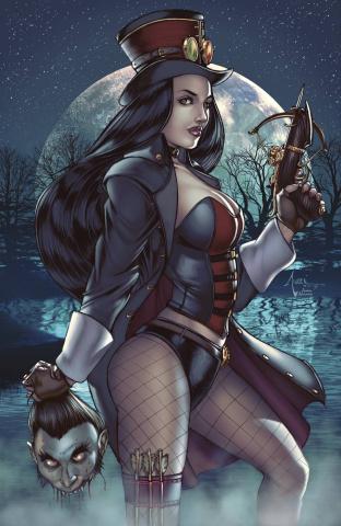 Grimm Fairy Tales: Van Helsing vs. Dracula #2 (Tucci Cover)