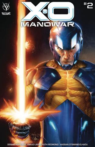 X-O Manowar #2 (Diaz Cover)