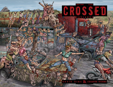 Crossed: Badlands #18 (Wrap Cover)