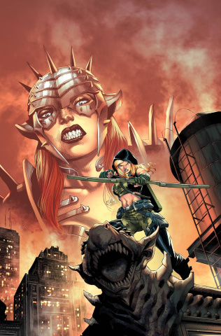 Robyn Hood: Iron Maiden #2 (Coccolo Cover)