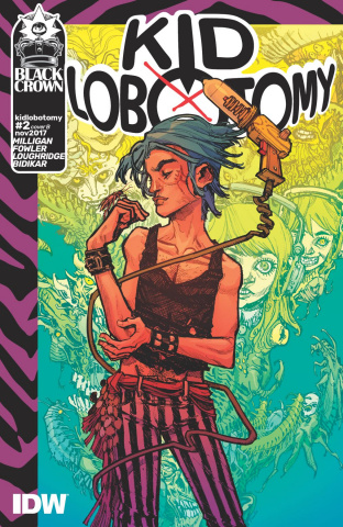 Kid Lobotomy #2 (Canete Cover)