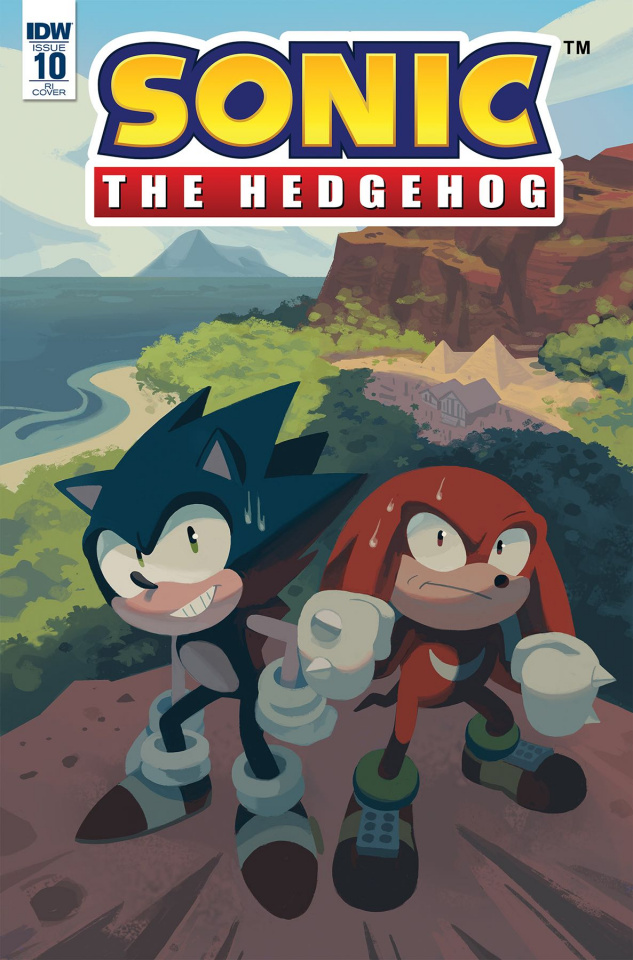 Sonic the Hedgehog #10 (10 Copy Fourdraine Cover)