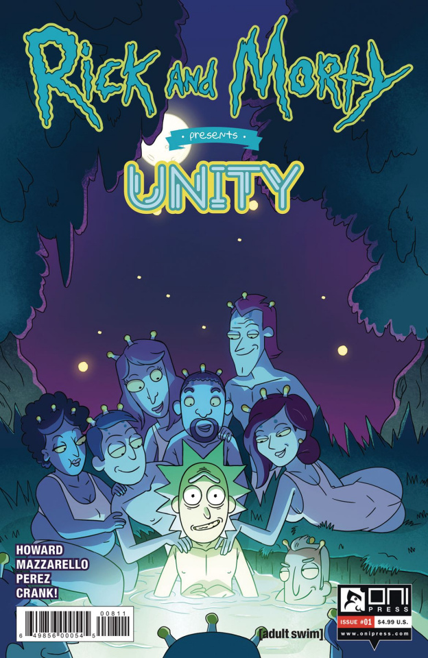 Rick and Morty Presents Unity #1 (Cannon Cover)