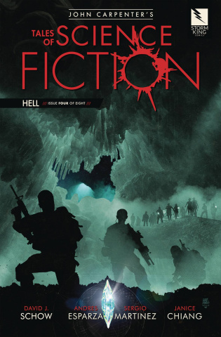 Tales of Science Fiction: Hell #4