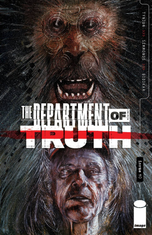 The Department of Truth #10 (Simmonds Cover)