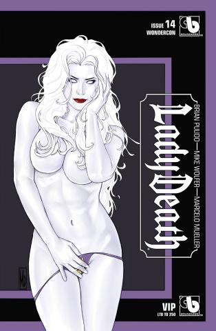 Lady Death #14 (Wondercon VIP Cover)