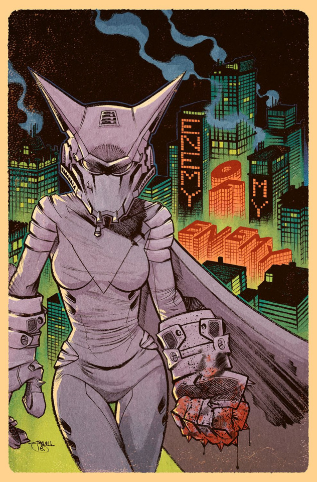 Mother Panic #4 (Variant Cover)