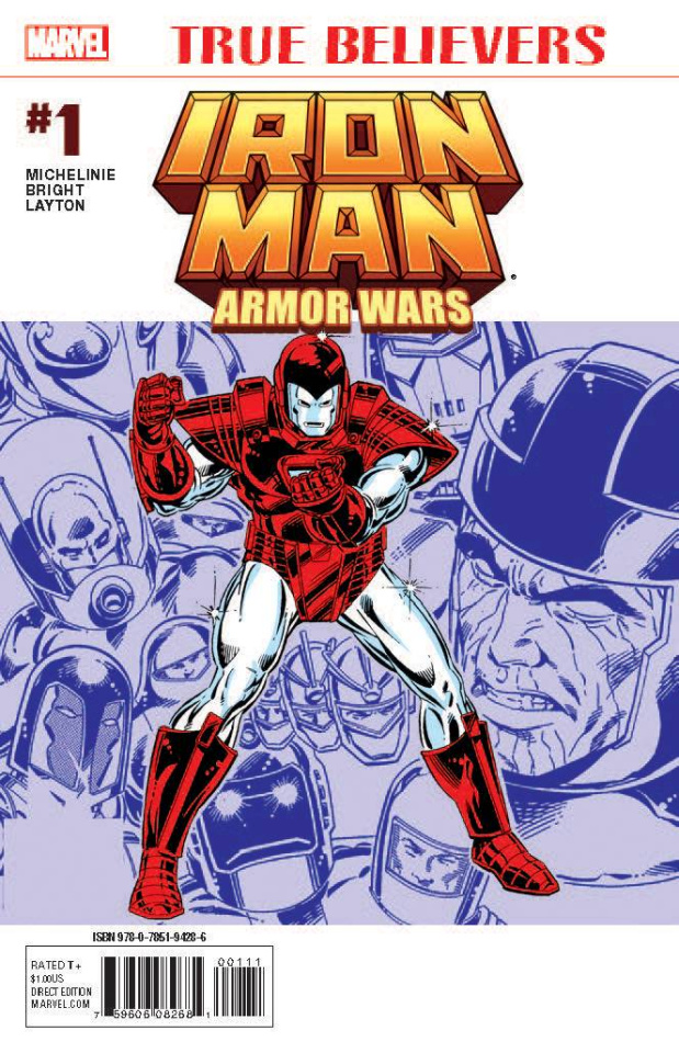 Armor Wars #1 (True Believers)