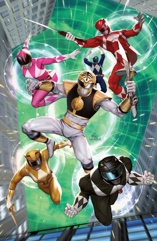 Mighty Morphin' #6 (10 Copy Lee Cover)