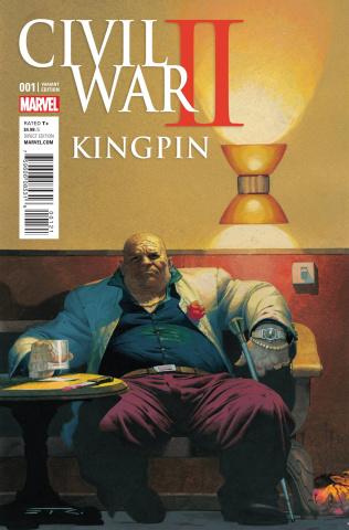 Civil War II: Kingpin #1 (Ribic Cover)