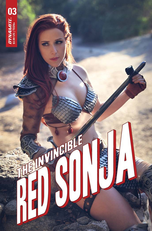 The Invincible Red Sonja #3 (Cosplay Cover)
