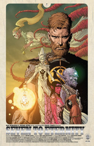 Seven to Eternity #5 (Silver Foil Cover)