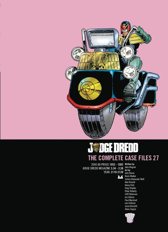 Judge Dredd: The Complete Case Files Vol. 27
