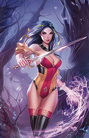 Grimm Fairy Tales #18 (Mos Cover)