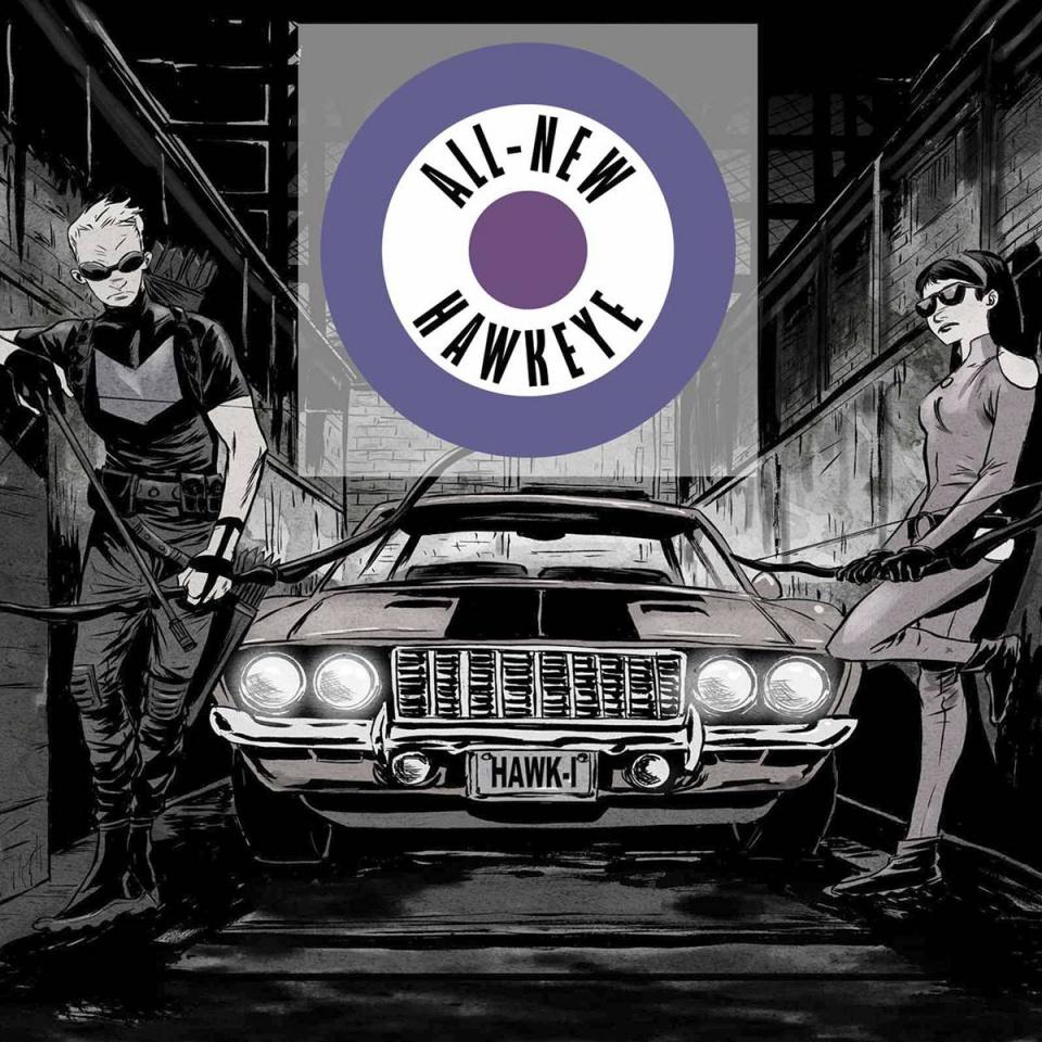 All-New Hawkeye #1 (Greene Hip Hop Cover)