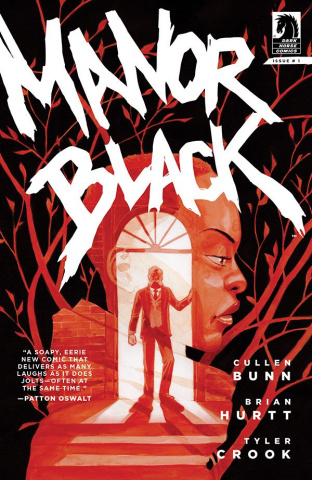 Manor Black #1 (Crook Cover)
