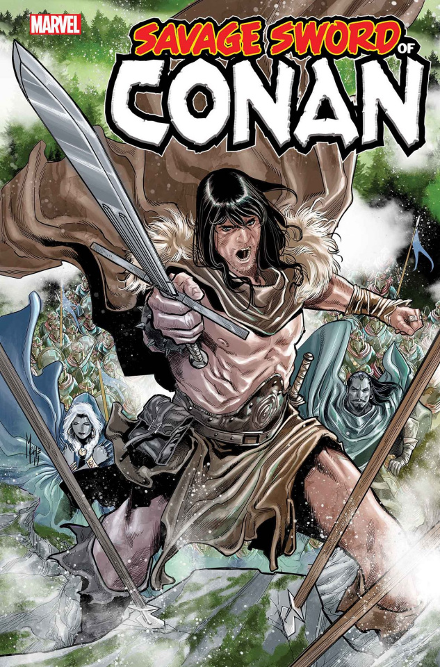 The Savage Sword of Conan #10