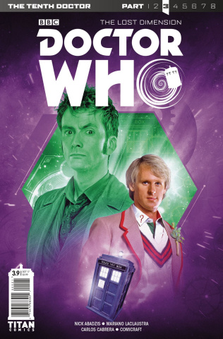 Doctor Who: New Adventures with the Tenth Doctor, Year Three #9 (Photo Cover)