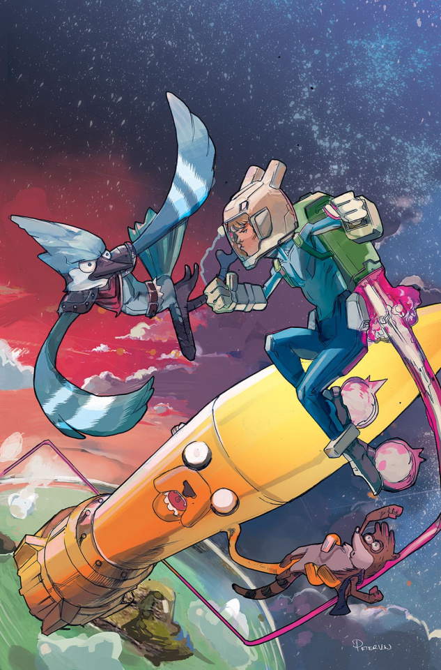 Adventure Time: Regular Show #3 (Subscription Nguyen Cover)