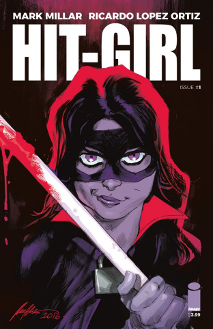 Hit-Girl #1 (Albuquerque Cover)