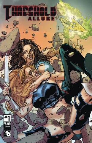 Threshold: Allure #1 (Catfight Cover)