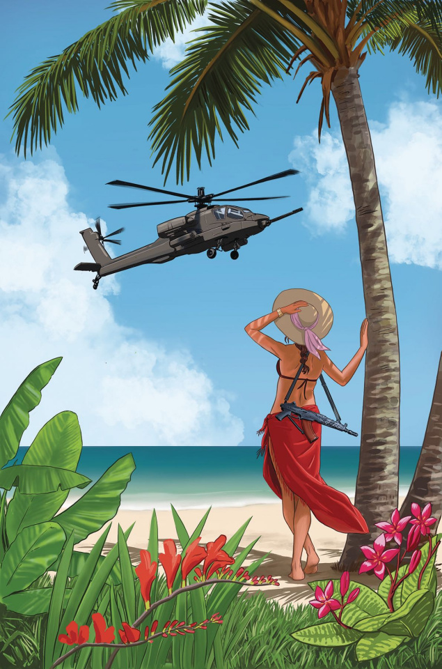 Billionaire Island #1 (Guerra Cover)
