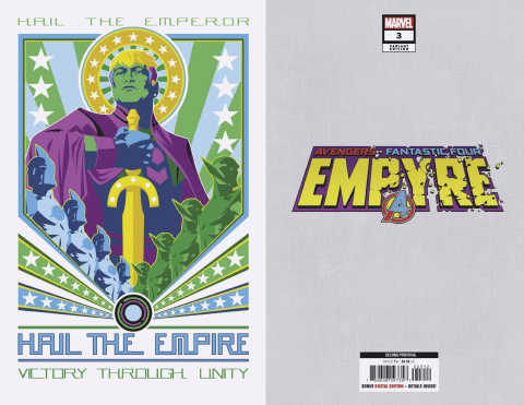 Empyre #3 (2nd Printing)
