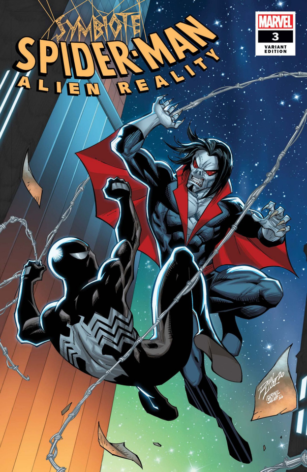 Symbiote Spider-Man: Alien Reality #3 (Ron Lim Cover)