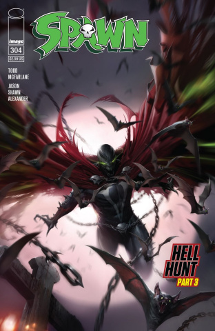 Spawn #304 (Mattina Cover)