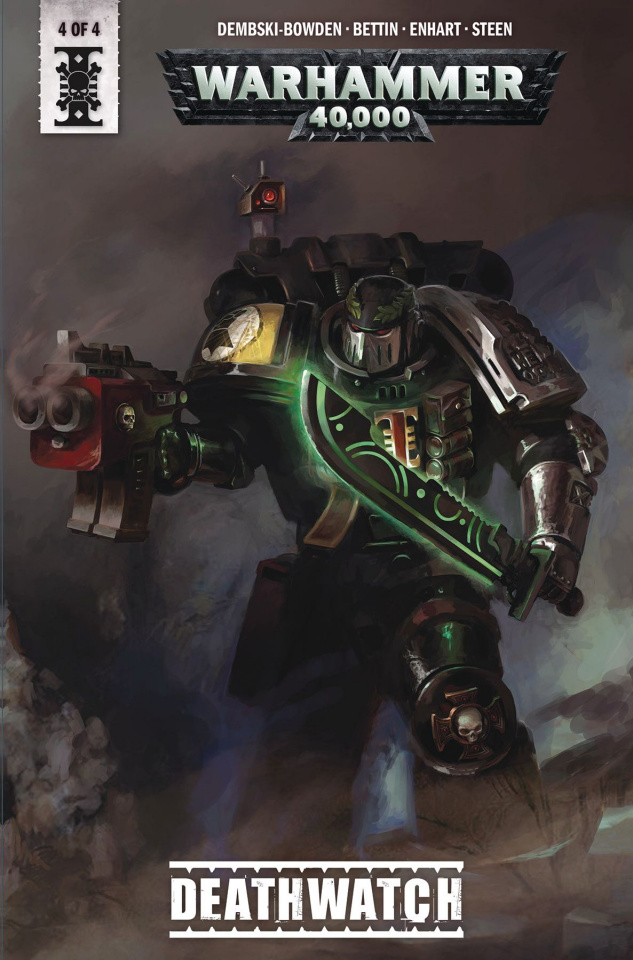 Warhammer 40,000: Deathwatch #4 (Sondered Cover)
