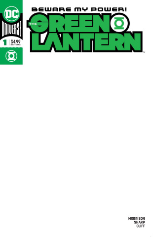 Green Lantern #1 (Blank Cover)