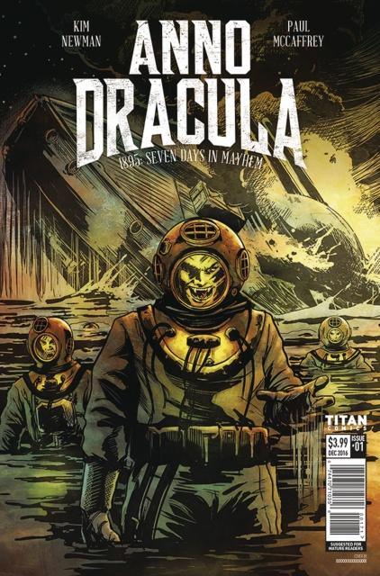 Anno Dracula #1 (Williamson Cover)