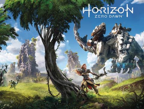 Horizon: Zero Dawn #4 (Game Art Wrap Cover)
