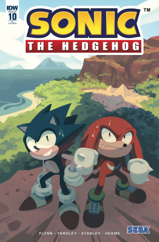 Sonic the Hedgehog #10 (10 Copy Fourdraine Cover)