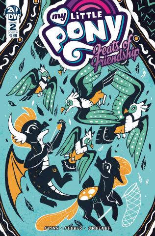 My Little Pony: Feats of Friendship #2 (Justasuta Cover)